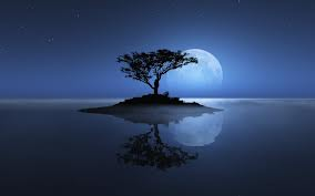isola con luna