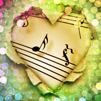note canzone cuore