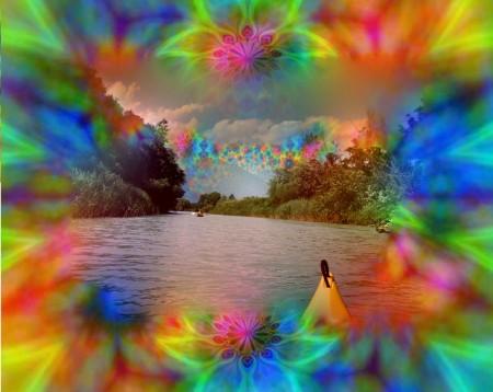 caleidoscopio fiume
