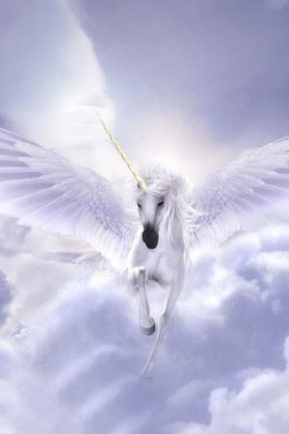 unicorno alato