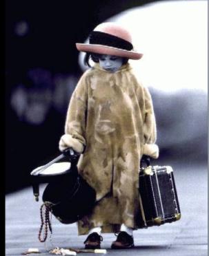 bambina - viaggio