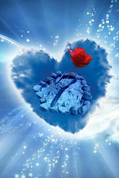 cuore ceneri