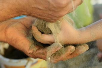 sabbia mani