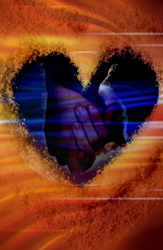 cuore mani