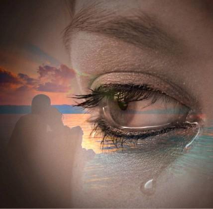 lacrime abbraccio
