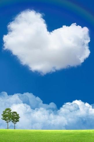 nuvola cuore