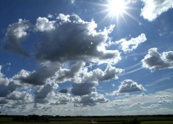 nuvole sole