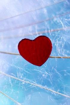 cuore tra fili