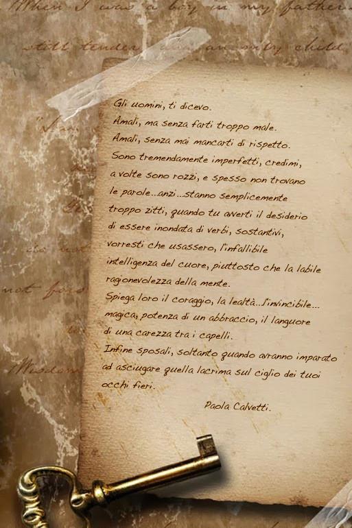 Famoso Lettera a mia figlia sugli uomini – Paola Calvetti | in ascolto  HA14